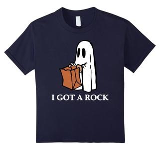 Kids I got a rock Halloween T-Shirt 8 Navy