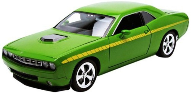 Highway61 1:18 Plymouth CUDA Concept HEMI 2011 gr?n, 50840 by Highway 61