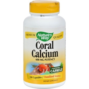 2Pack! Nature's Way Coral Calcium with 73 Trace Minerals - 180 Vcaps