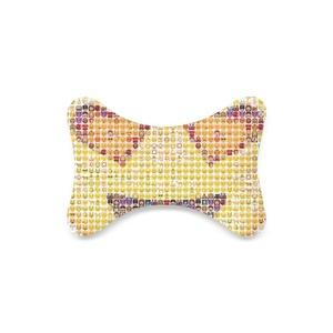 Emoji Custom Travel Pillow Bone Shape Car Neck Pillow Car Seat Neck Rest Cushion Sofe And Healthy