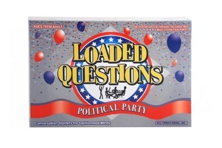 Loaded Questions Political Party by All Things Equal, Inc.