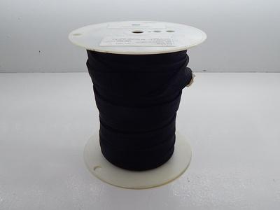 Santa Fe Textiles 591-0169-012 Black Nylon Sleeving T87676