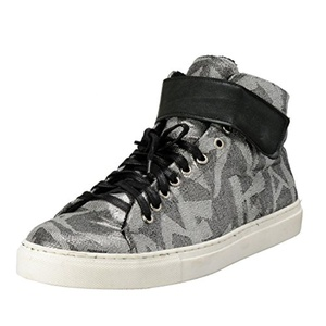 Versace Jeans Men's Canvas Hi Top Fashion Sneakers Shoes US 11 IT 44