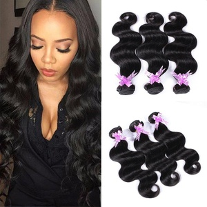 Shengmeiyuan Beauty Show 8-30inches Grade 9A Unprocessed Brazilian Body Wave Virgin Hair 3 Bundles Rosa Hair Products Human Hair Weave Extensions Natural Black Color (26 28 30)
