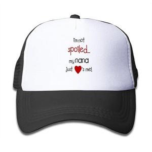 Kids Mesh Adjustable I'm Not Spoiled My Nana Just Loves Me! Cap Hat World