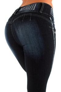 Silver Diva Style DJ1293 Stretch Push-Up Jeans (Levanta Cola) Skinny jeans