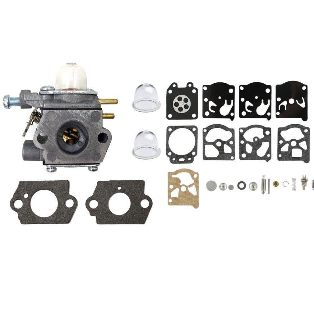 Aisen Carburetor With Primer Bulb Diaphragm Gakset Rebuild Kit For Wt Mtd Cub Cadet Yard Man Y Tiller Y Y Y Ec Y Ec Y Ec Y Ym Cs Ym Ss String Trimmer Weedeater