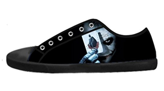 Personalized Joker Why So Serious Canvas Shoes Low-Top Lace-up Image Imported Sneakers For Men-8M(US)