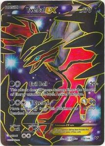 Pokemon Yveltal Ex 144/146 Xy Base Set Full Art Ex Holofoil by POKEMON XY