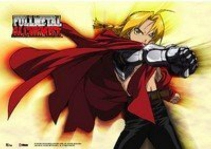 Fullmetal Alchemist Edward Elric Anime Wall Scroll by Full Metal Alchemist