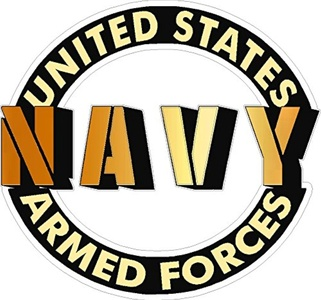 United States Armed Forces Navy Vehicle Decal