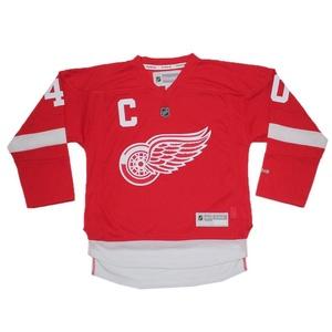 Boys NHL Detroit Red Wings Zetterberg #40 Hockey Jersey / Sweater