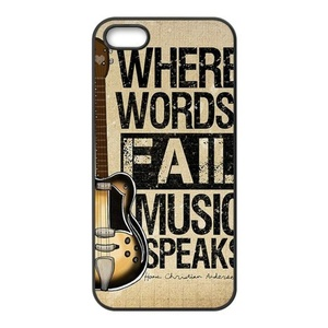 Cover for iPhone SE,Case For iPhone SE / 5 / 5S,Phone Case for Apple iPhone 5 5S,Case Cover for iPhone 5S,Guitar Pattern Soft TPU Rubber Gel Case Cover Skin for iPhone 5 5S SE
