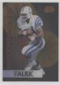 Marshall Faulk (Football Card) 1995 Sportflix - Rolling Thunder #3