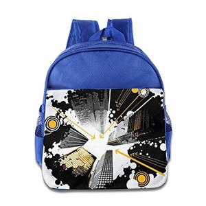 Bag Tall Buildings Leather School Bag For Child