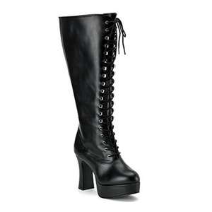 Funtasma EXOTICA-2020X womens Black Polyurethane Boots