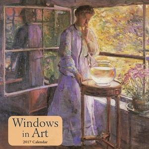 Windows in Art 2017 Wall Calendar