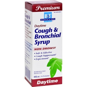 2Pack! Boericke and Tafel Cough and Bronchial Syrup - 8 fl oz