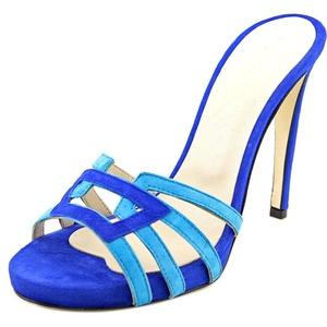 Charles David Mari Women US 8.5 Blue Sandals EU 39.5