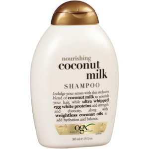 2 Pack of OGX Nourishing Coconut Milk Shampoo 13 fl. oz. Squeeze Bottle ea