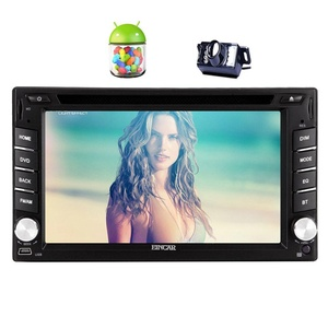 EinCar Android 5.1.1 Car Stereo with Quad Core 6.2'' Touch Screen Double Din Car DVD Player In Dash GPS Navigation AM FM Radio Bluetooth Head Unit Support 1080P/WiFi/Airplay+Reversing Camera
