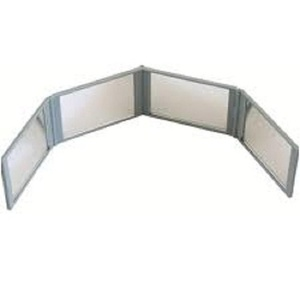 Mirror Go Round Compact 4 Panel Expandable Mirror with Case NEW by Mirror Go Roud