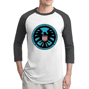 Man Agents Of Shield Sleeve Raglan T Shirt