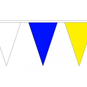Multicolour 13m (36 Flags) Triangle Bunting by Top Brand