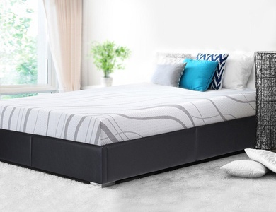 SLEEPLACE 8 in IVY 4-Layer Ventilation Memory Foam Mattress