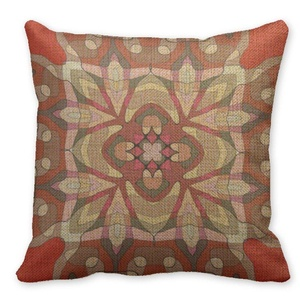 Mooninght Pomegranate Pattern Square Cushion Cover