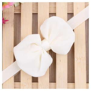 1pcs Kids Baby Girls Toddler Headband Hair Band Bowknot Headwear Accessories New Colors:White