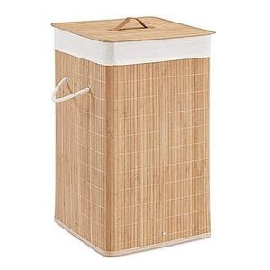 Bamboo Hamper in Natural (Set of 2)