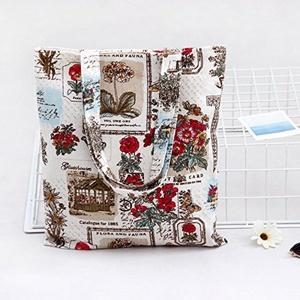 Da Wu Jia Women's Handbag Summer fresh bags of cotton cloth bag art shoulder hand bag shopping bag , 3338cm
