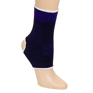 Ankle Joint Brace Protective Support Wrap (Blue) by Health Braces