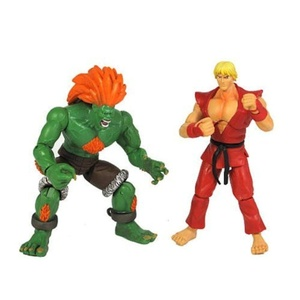 Street Fighter 4 Figure 2 Pack: Ken vs Blanka by Street Fighter