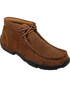 Twisted X Men's Distressed Grain Driving Mocs Distressed 10.5 D(M) US by Twisted X