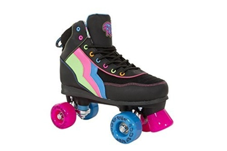Rio Roller Classic II Disco Roller Skates - Passion - JNR13 by Rio Roller