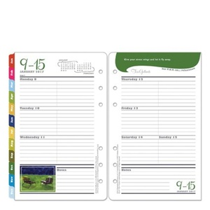 Compact Her Point of View Weekly Ring-bound Planner - Jan 2017 - Dec 2017
