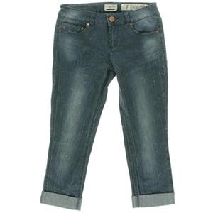Indigo Rein Womens Juniors Classic-Rise Cuffed Capri Jeans Denim 7