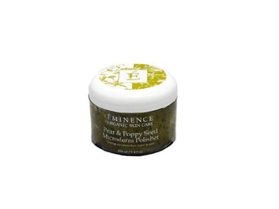 Eminence Organic Skincare Pear and Poppy Seed Microderm Polisher, 8.4 Fluid Ounce by Eminence Organic Skin Care
