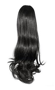 Love Hair Extensions Victorian Crocodile Clip Ponytail. Colour 1 - Jet Black by Love Hair