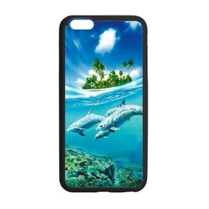 Case for iPhone 6 Plus & iPhone 6S Plus,Fashion Dolphin Design Rubber Case for iPhone 6 Plus & iPhone6S Plus,Soft TPU Case Cover for Apple iPhone 6 Plus / iPhone 6S Plus(5.5