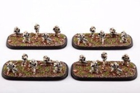 Dropzone Commander PHR Immortals (4 Bases) by Dropzone Commander