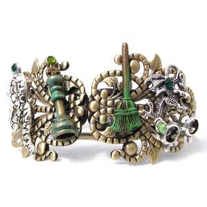 Harry Potter Magic Metal Bracelet cuff bangle
