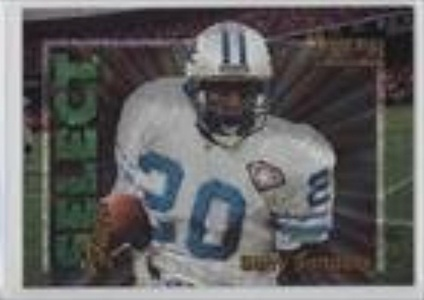 Barry Sanders #/2,250 (Football Card) 1995 Select Certified Edition - Select Few - Dufex #4
