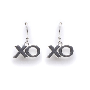 Tomas Sterling Silver XOXO Hook Earrings