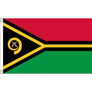 Vanuatu Flag 5Ft X 3Ft South Pacific Island Banner With 2 Metal Eyelets New by Vanuatu
