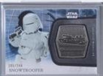 Snowtrooper #105/244 (Trading Card) 2016 Topps Star Wars: The Force Awakens Series 2 - Medallions - Silver #20