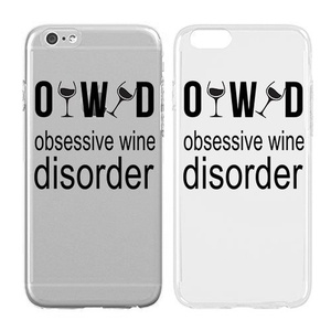Case for iPhone 5/5S - Cream Cookies - Ultra Slim Hard Plastic Cover Case - Observe Wine Disorder - Alcoholics - Alcohols - Quotes - Fun Quotes - Sassy - Sassy Quotes - Drunk - Wine