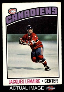 1976 O-Pee-Chee NHL # 129 Jacques Lemaire Montreal Canadiens (Hockey Card) Dean's Cards 4 - VG/EX